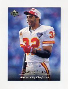 1995+Upper+Deck+Football+#139+Marcus+Allen+-+Kansas+City+Chiefs