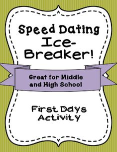 speed dating training activity