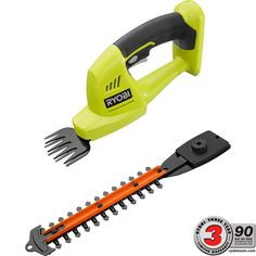 Ryobi ONE  18-Volt Lithium-Ion Cordless Grass Shear and Shrubber - Battery and Charger Not Included-P2900B - The Home Depot