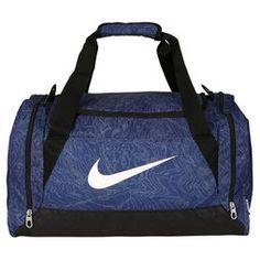 Bolsa Nike Brasilia 6 Duffel Graphic - Azul+Branco