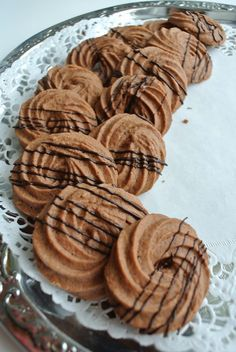 Candy Cookies, No Bake Cookies, Baking Cookies, Finnish Recipes, Best Chocolate Chip Cookies Recipe, Vegan Treats, Gluten Free Baking, Sweet Cakes, Bread Baking