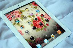 rosesandsunshines:    iPad♥