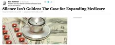 """""""Throughout its history Medicare has always been a dynamic program. Unfortunately, today it seems the only time Congress talks about #Medicare is to cut benefits, shift costs or find ways to take money from the program to fund other federal priorities."""" (click through to read more)"""