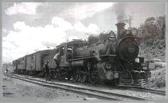 Locomotiva na década de 30 da EFCB/EF Rio D'ouro