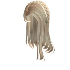 Customize your avatar with the Blonde Straight Hair with Braid Tiara and millions of other items. Mix & match this hair accessory with other items to create an avatar that is unique to you! Blonde Hair Roblox, Brown Hair Roblox, Black Hair Roblox, Braided Hairstyles Updo, Pretty Hairstyles, Straight Hairstyles, Girl Hairstyles, Straight Hair With Braid, Free T Shirt Design