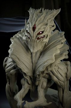 Alien presentation THU/Zbrush summit by David Giraud on ArtStation. Alien Concept Art, Creature Concept Art, Creature Design, Humanoid Creatures, Alien Creatures, Fantasy Creatures, Alien Character, Character Art, Realistic Eye Drawing