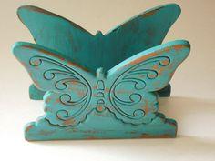 butterfly napkin holder
