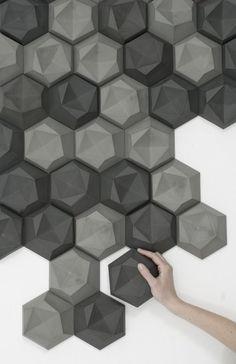 Edgy 3D Tile by Patrycja Domanska Tanja for Lightfoot