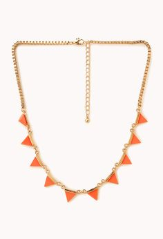 Neon Pop Chain Necklace | FOREVER21 - 6,80