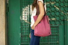 Pheel-rose-tote-bag Fashion Bags, Tote Bag, Rose, Dresses, Vestidos, Fashion Handbags, Pink, Carry Bag, Tote Bags