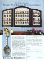 Franklin Mint Country Store Spoons 1994 Ad Picture