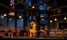 Two Trains Running. Goodman Theatre. Scenic design by Linda Buchanan.