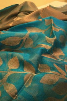 Resham and matka silk saree