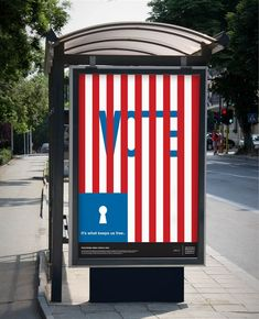 "AIGA: Design for Democracy ""Get Out the Vote"" Poster (2012)"