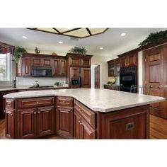 What Color To Paint Kitchen With Cherry Cabinets ️home