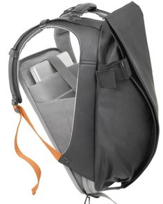 "Additional InformationDimensions Our Isar Rucksack is an ergonomic backpack built for creatives and entrepreneurs on the move. A conceptual design ensures fast, easy access to your laptop and office essentials, with ample space and the comfort you need for even the busiest days. The laptop compartment accommodates up to laptops in size 13""/15"" (Medium) or 15""/17"" (Large)."