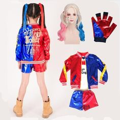 Suicide Squad #HarleyQuinn #Halloween #Cosplay #Costume #HalloweenDress #Halloween2019