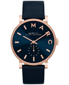 nice Montre pour femme : Marc by Marc Jacobs Watch, Women's Baker Black Textured Leather Strap - Women's Watches - Jewelry & Watches - Macy's Marc Jacobs Designer, Marc Jacobs Jewelry, Marc Jacobs Watch, Rolex, Jewelry Accessories, Fashion Accessories, Watch Accessories, Hand Watch, Men Accessories