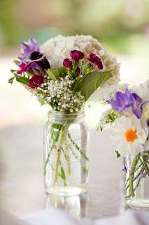 Jar Wedding Centerpieces For More Inexpensive Wedding Flower Ideas
