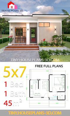14 Tiny Houseplans 3d Com Ideas Small House Design Plans Small House Design Home Design Plans