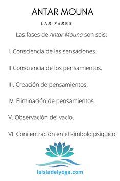 La práctica de Antar Mouna se realiza en cinco o seis fases y cada una de ellas tiene varios pasos. Lee más en el artículo.