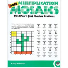 More Multiplication Mosaics Book