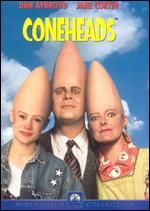 Coneheads made famous on SNL