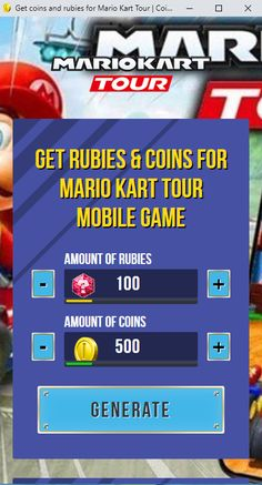 Mario Kart Tour Hack No Human Verification 2020 Get Unlimited Free Coins and Ruby for Android and iOS Mario Kart Tour Hack No Verification 2020 Get Unlimited Free Coins and Ruby for Android and iOS Cheat Online, Hack Online, Game Resources, Singles Online, Game Update, Test Card, Mario Kart, Text You, Mobile Game