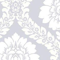 Floral Damask - Wallpaper