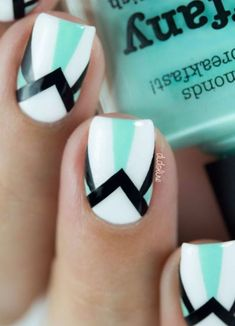 45+ Cute Nail Art Ideas For Short Nails 2016
