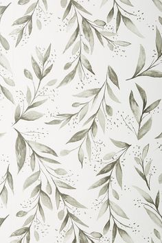 Magnolia Home Olive Branch Wallpaper by in Black, Wall Decor at Anthropologie wallpaper diy engine design top 10 wallpapers how to wall decor anime music im Iphone Background Wallpaper, Aesthetic Iphone Wallpaper, Aesthetic Wallpapers, Floral Wallpaper Iphone, Screen Wallpaper, Aztec Wallpaper, Lines Wallpaper, Iphone Hintegründe, Iphone Bluetooth
