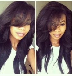 Wholesale Sexy Long Wavy Black wig Heat Resistant Synthetic Hair Wigs for African american Women