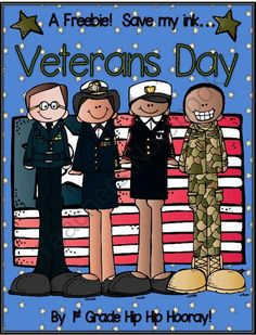 Veterans Day for the Primary Child...Craft and Activities! from 1st Grade Hip Hip Hooray on TeachersNotebook.com -  (20 pages)  - Celebrate Veterans Day with your class.