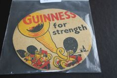 1957 Beermat Guinness Cat 0037 (2A33 9/14)
