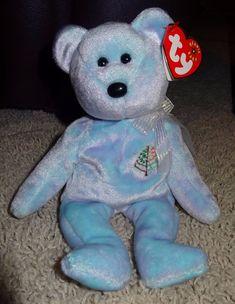 443cf5c49a2 TY Beanie Baby Issy Four Seasons Hotel Bear PE Pellets 2001 Chrisopher  Sharp TH  Ty
