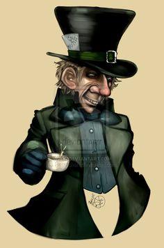 Mad Hatter CardART by *Regochan on deviantART