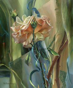 Italian Painters, Rose Wallpaper, Art Series, Flower Photos, House Painting, Flower Art, Peonies, Beautiful Flowers, Abstract Art