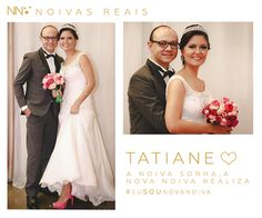 Tatiane #eusounovanoiva #noivasreais #vestidosdenoiva #noiva #bride #weddingdress #weddingdresses #casamento