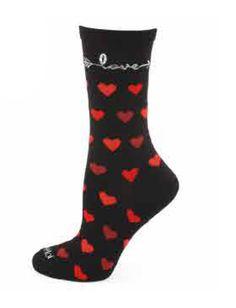 Love Struck Crew Socks by MeMoi Crew Socks, Valentine Day Gifts, Valentine Gifts