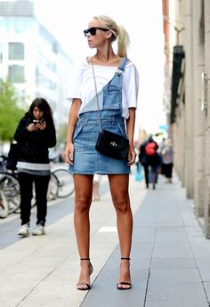 Unbuckled overall shorts done right