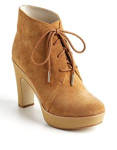 Rosalyn suede ankle boots from Michael #MichaelKors! #lordandtaylor #boots