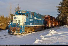 RailPictures.Net Photo: GMTX 2645 Quebec Gatineau EMD GP38-2 at Cap-de-la-Madeleine, Quebec, Canada by Mathieu Tremblay