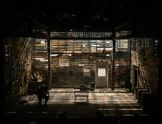 KAGADATO selection. The best in the world. Theatre, Opera and other. Interior style. **************************************Songbird. 59E59. Scenic design by Jason Sherwood.