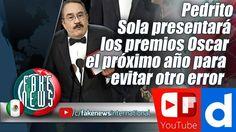 Pedrito Sola presentará los premios Oscar el próximo año para evitar otr...