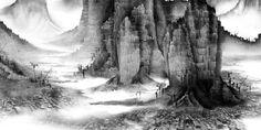 Phantom landscapes №6 (detail) by Yang Yongliang