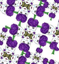Cabeza de lulo (lucia barreto ) textil