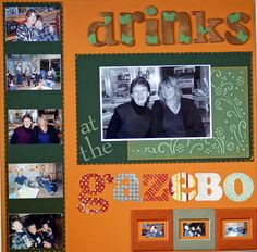DRINKS+AT+THE+GAZEBO - Scrapbook.com