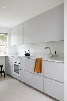 Our selection of three kitchen models: INGARÖ, ENSIÖ and SAMSÖ. Produced in Finland using traditional methods and handcraft skills. Grey Ikea Kitchen, Ikea Metod Kitchen, White Gloss Kitchen, Grey Kitchens, Open Plan Kitchen, New Kitchen, Home Decor Kitchen, Kitchen Interior, Gloss Kitchen Cabinets