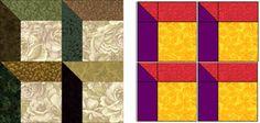attic windows Quilt Patterns | Quilt Inspiration: Free Pattern Day: Attic Windows Quilts