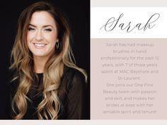 Sarah C. Sarah C, Makeup Services, Dirty Dancing, Professional Makeup Artist, Bridal Makeup, Makeup Brushes, The Past, Celebs, Long Hair Styles